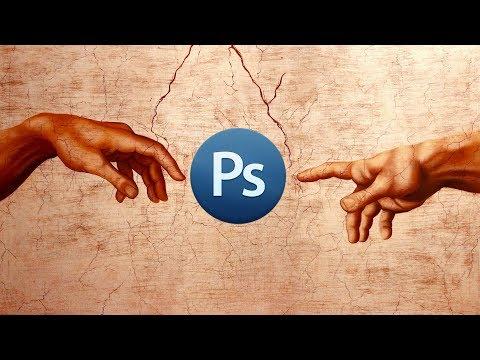Усиление резкости и детализации в Фотошоп / Редкий метод кракелюра