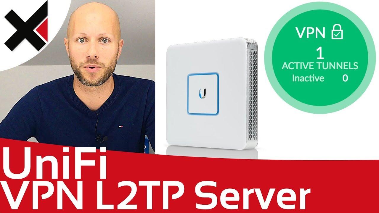 UniFi VPN L2TP/IPsec Server einrichten (Remote Benutzer VPN) | iDomiX
