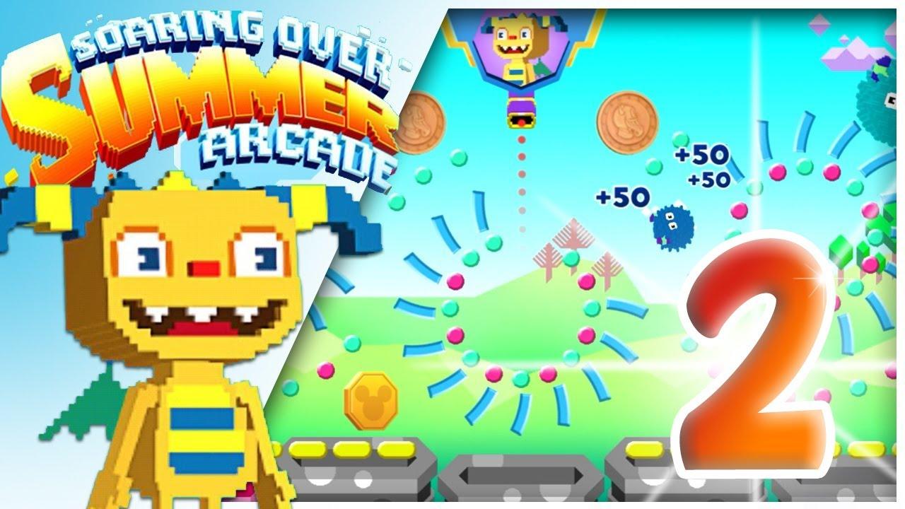 Soaring Over Summer Arcade 2 | Henry Hugglemonster online game for kids