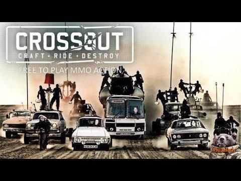 Crossout: Клановые бои. The RED  3 место в турнире