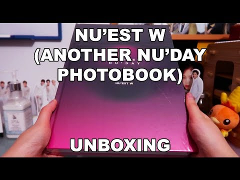UNBOXING | NU'EST W - ANOTHER NU'DAY (Makestar Photobook)