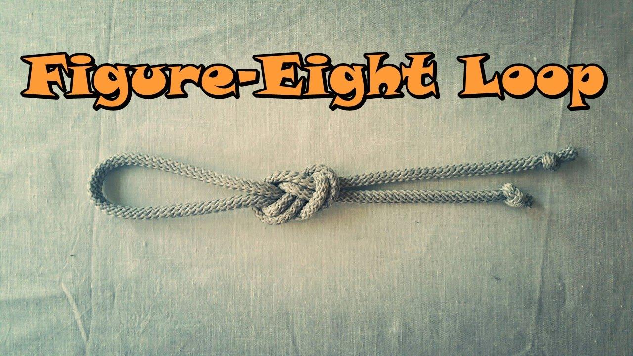 How to make a Figure-Eight Loop? - Как сделать Узел Восьмёрку?