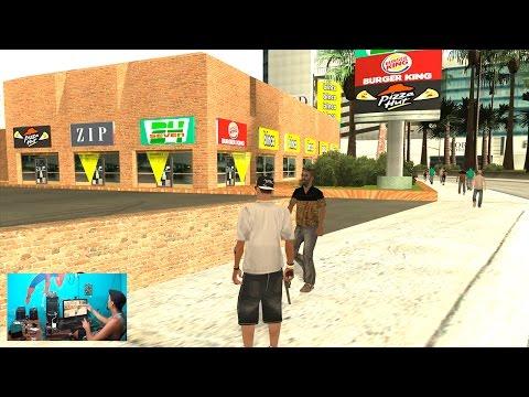 86º Video de GTASA Modificado 2015: Lanchonetes Parte 3