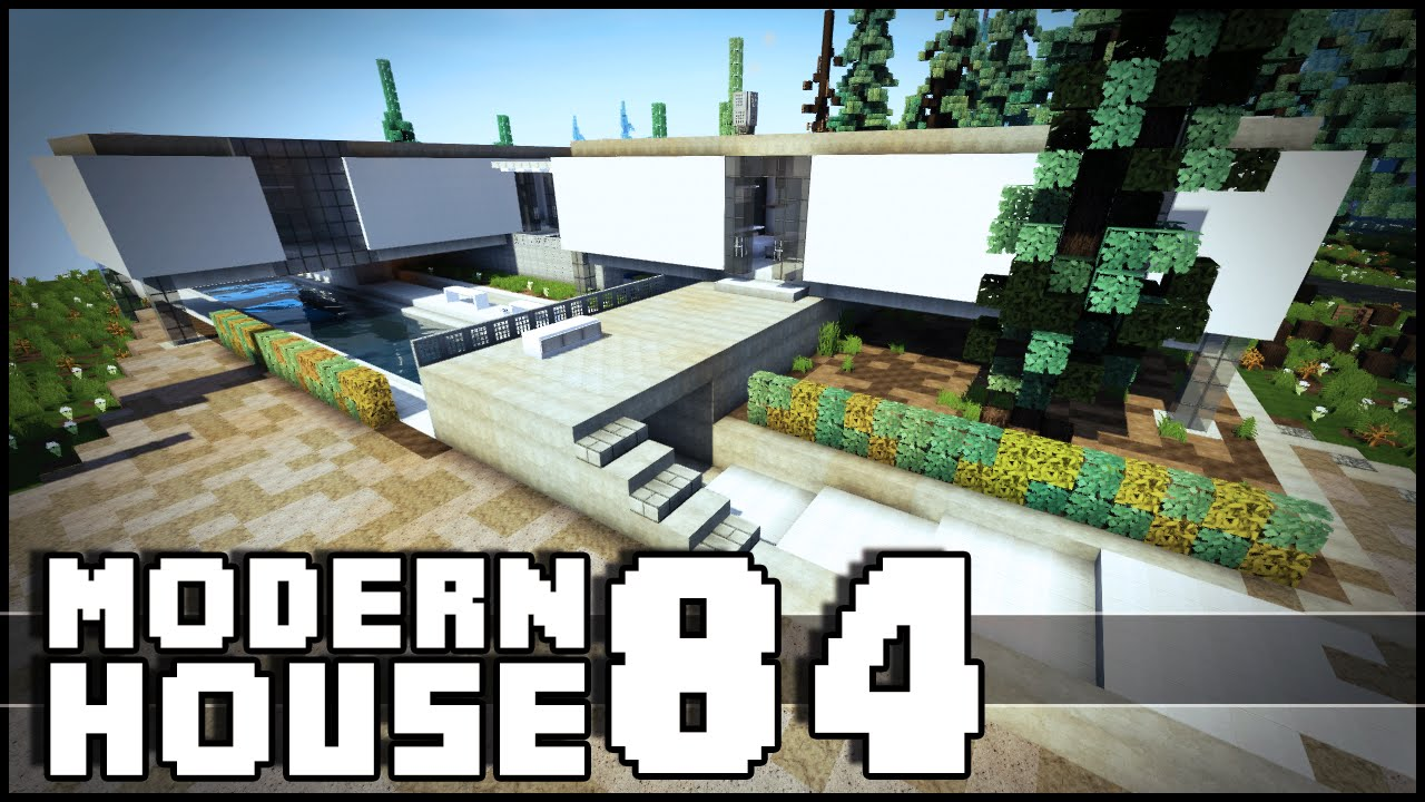 Minecraft Modern House 84 YouTube
