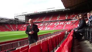 Old Trafford Stadium Tour 2012 May 5