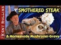 Smothered Steak / Salisbury Steak with Homemade Mushroom Gravy Recipe