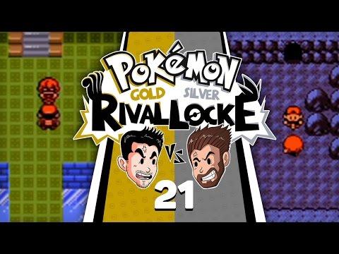 HOME STRETCH! | Pokemon Gold & Silver Rival Locke w/ NiPPs & Shady Penguinn #21