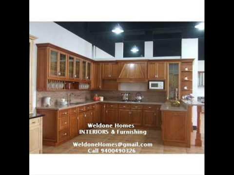 Premium Modular Kitchens Wooden Interior Works In Sobha City