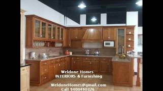 Premium Modular Kitchens - Wooden Interior Works In Sobha City Thrissur - Ernakulam -call 9400490326