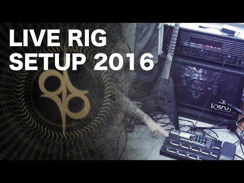 LIVE RIG 2016 - Satan, AX8, 4 cable method