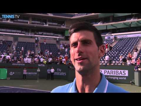 Indian Wells 2015 Sunday Interview Djokovic