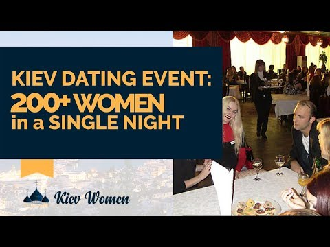 Kiev Dating Event: Over 200 Women In A Single Night