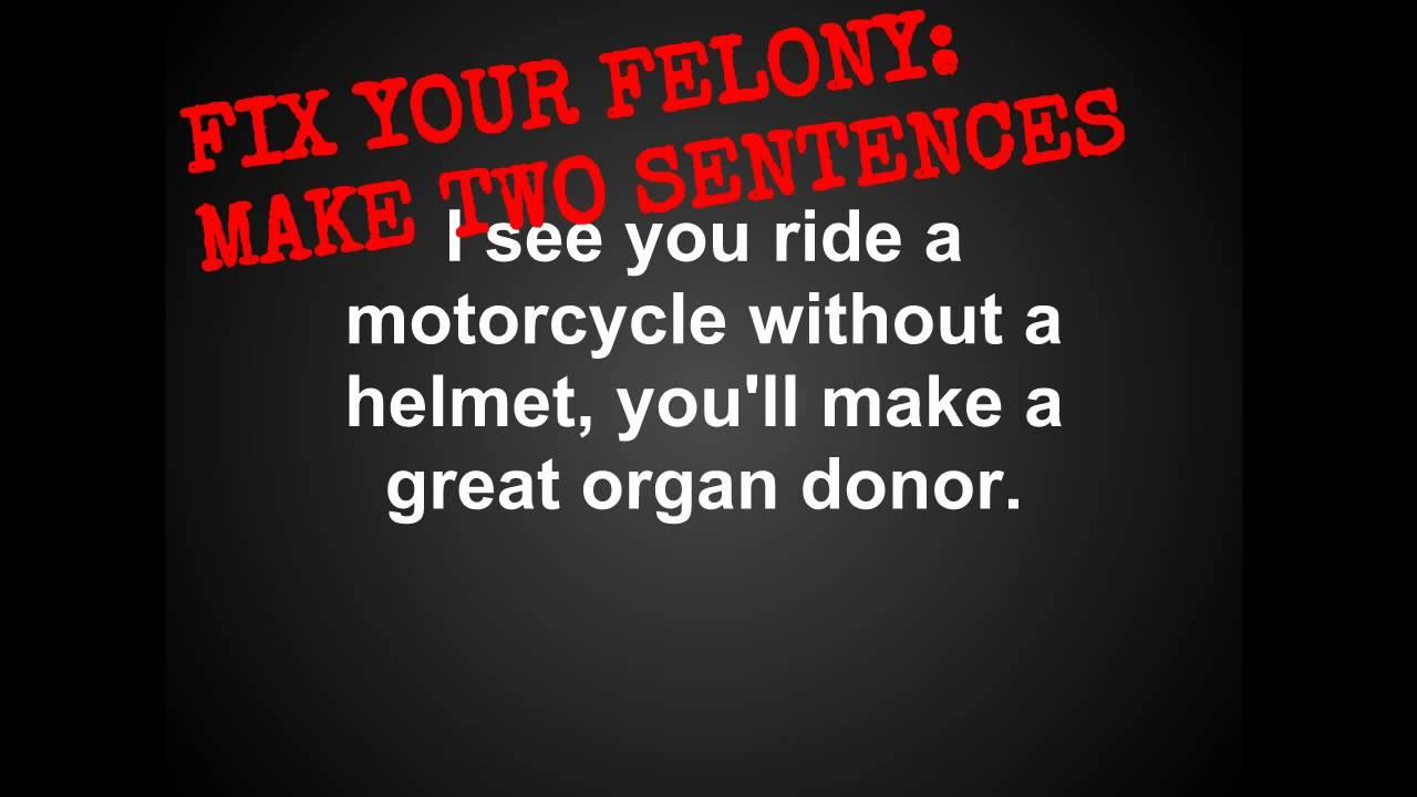 Writing Felonies: Comma Splices - YouTube