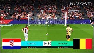 CROATIA vs BELGIUM   Penalty Shootout   PES 2018 Gameplay PC