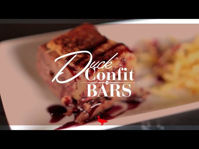MALVASIA DUCK CONFIT BARS