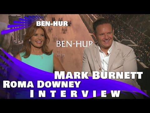 BEN HUR - ROMA DOWNEY AND MARK BURNETT INTERVIEW