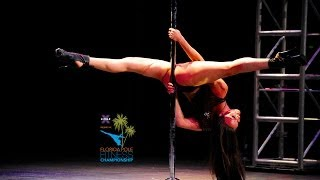 Florida Pole Fitness Championship 2014 - Leigh Ann Reilly - Judge