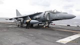 Italian Harrier; American Carrier