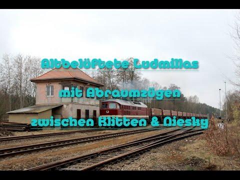 ☆☆☆ Altbelüftete Ludmillas mit Abraumzügen zwischen Klitten & Niesky [Extra Large] ☆☆☆