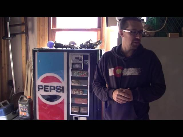 Pepsi Machine or Gun Safe?