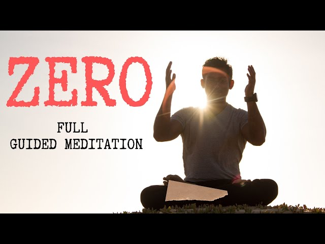 Zero Thought Meditation Guided - Talk & 30 min Meditation by DHYANSE | Session #3111