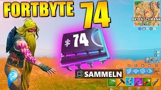Fortnite Fortbyte 74 🗄️ filing cabinet | All Fortbyte Places Season 9 Utopia Skin English