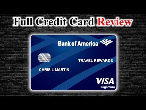 Credit Card Review | Bank Of America® Travel Rewards Visa® Credit Card