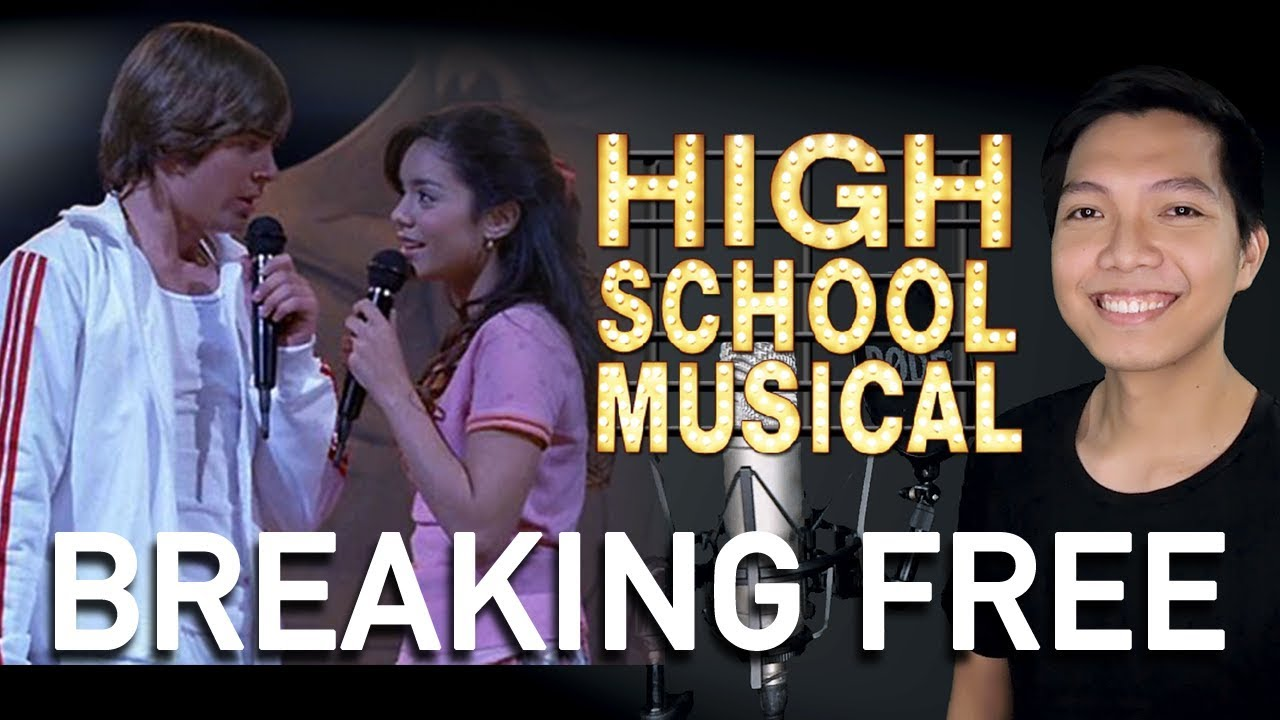 breaking free high school musical karaoke