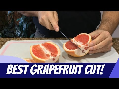 How to Cut Up a Grapefruit: The Fastest, Easiest, Cleanest and Most Efficient Method