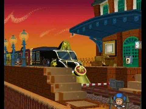 Paper Mario: The Thousand Year Music- Riverside Station