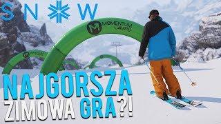 "NAJGORSZA ""ZIMOWA"" GRA? - SNOW"