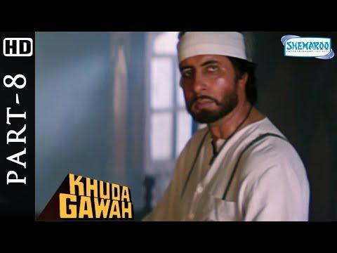 Khuda Gawah Full Hindi Movie Part 8 (HD) - Amitabh Bachchan - Sridevi - Popular 90's Movie