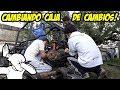 Arenero Motor Fiat 128 - CAMBIANDO CAJA DE CAMBIOS - Radialero Team