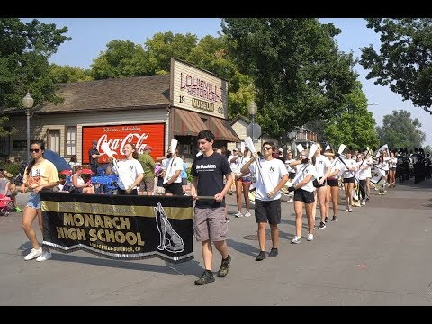 Monarch High School Louisville/Superior CO - Marching Band - Labor Day Parade Louisville CO USA 2017