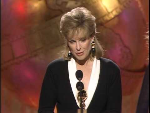 Jill Eikenberry Wins Best Actress TV Series Drama - Golden Globes 1989
