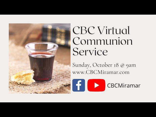 Christway Oct. 18 | Communion Sunday
