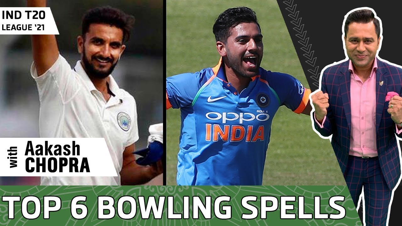 TOP 6 BOWLING Performances of IND T20 League 2021| Betway Super Over | Aakash Chopra