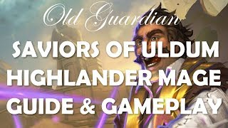 Highlander Mage deck guide and gameplay (Hearthstone Saviors of Uldum)