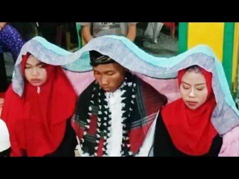 Wanita marah karena disebut pacar gemuk, pria Indonesia nikahi dua pacarnya sekaligus - TomoNews