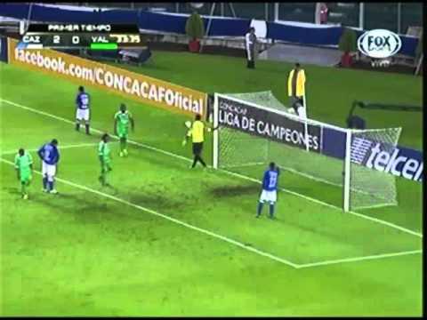Cruz Azul 3-0 Valencia(Haiti) CONCACAF Liga de Campeones 24/09/2013