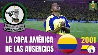 COPA AMÉRICA (2001) 🇨🇴 COLOMBIA Campeón de PAZ 🏆 Historia Copa América