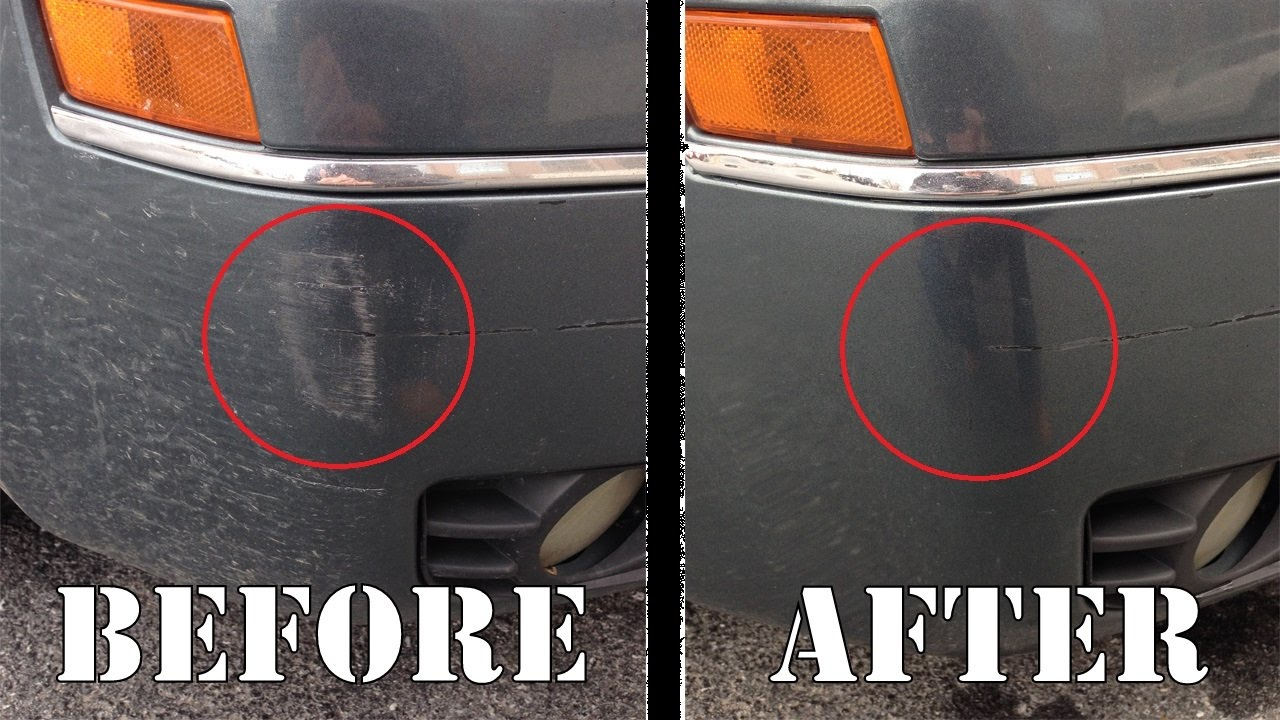 Remove Car Scratches With Toothpaste >> Toothpaste Removes Scuff Marks - YouTube