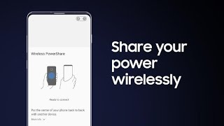 Galaxy S10: How to power up another device with Wireless PowerShare
