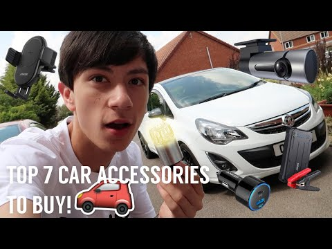 Top 7 BEST Car Accessories To BUY!!!