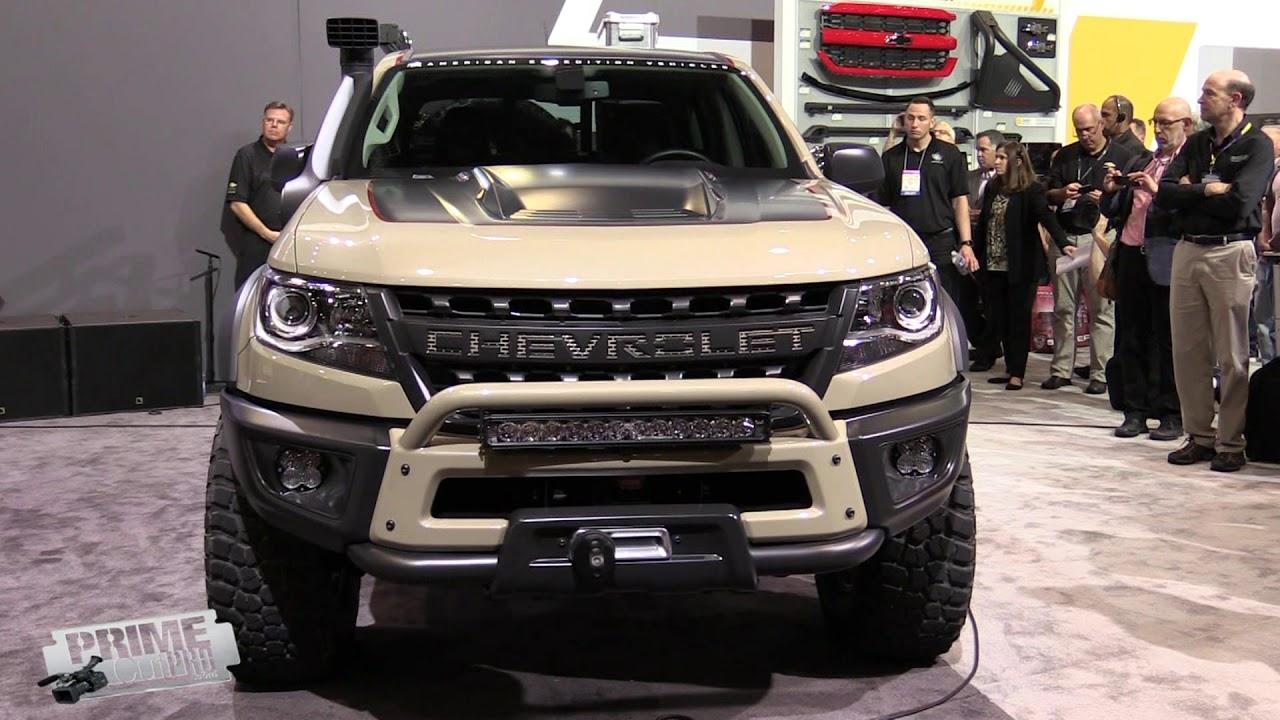 2018 Chevrolet Concept Trucks - SEMA - YouTube