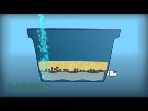 Filtración del agua con carbón vegetal en Español (acento de España)