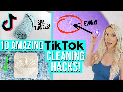 10 GAME-CHANGING TIK TOK CLEANING TIPS!