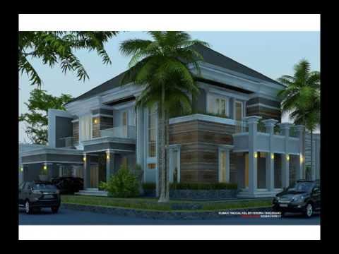 Desain Rumah Kolam Renang Kavling Hook 2 Lantai Youtube