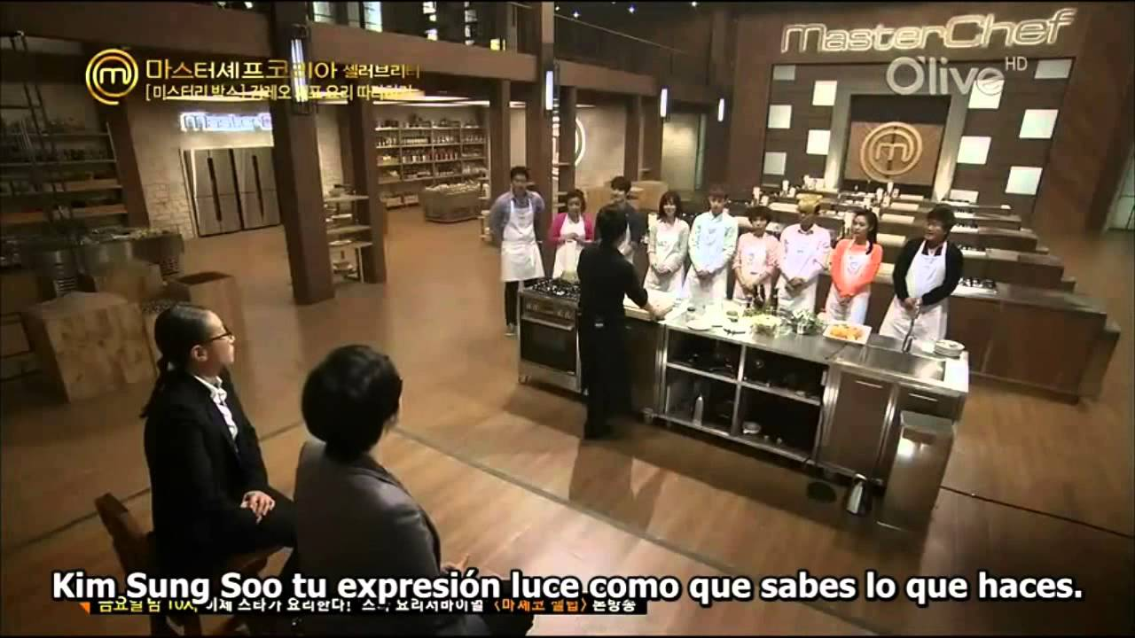 Master Chef Korea Celebrity Ep. 2 (Sub español) [1/4 ...