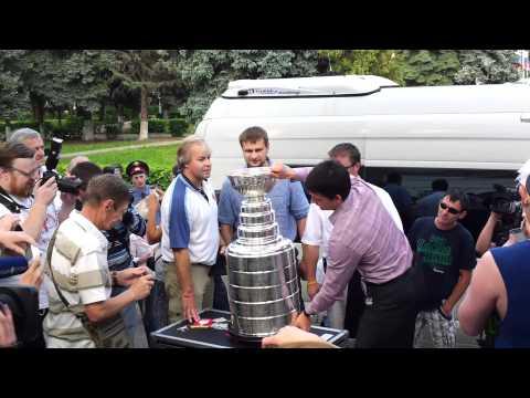 Stanley Cup in Russia Voskresensk Кубок Стенли в России Воскресенск